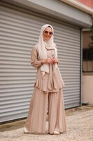 STUDIO NİSH - StudioNish Bej Doha Pantolon
